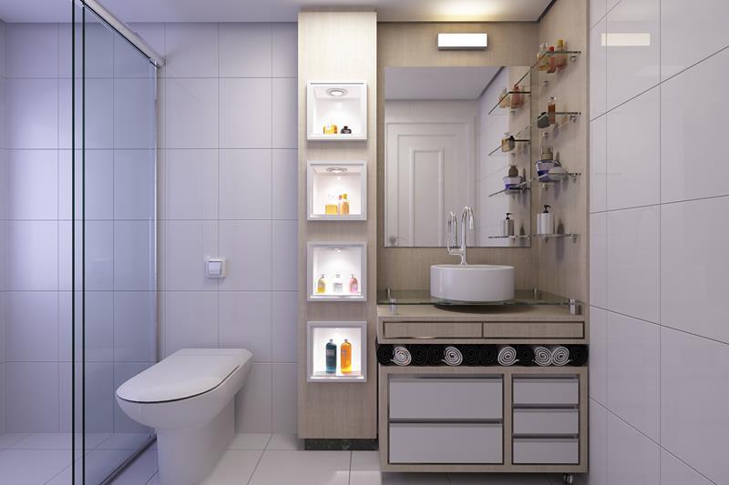 Banheiros -> Moveis Para Banheiro Pequeno Sob Medida